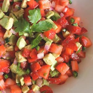 Creative savory strawberry recipes