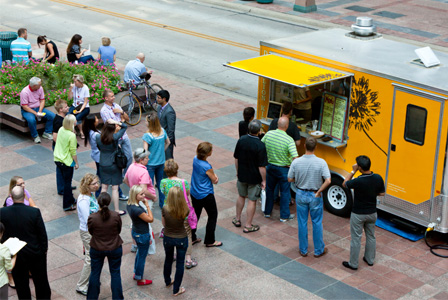 Summer food truck
