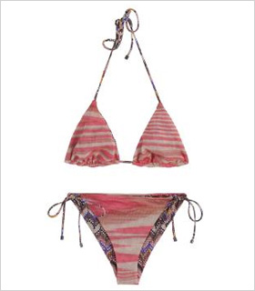 Missoni Wave Print bikini, $340, boutique1.com