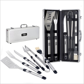 Fiero 5-Piece Personalized Barbecue Set ($70)