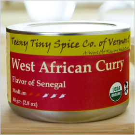 Teeny Tiny Spice Company West African Curry ($10)