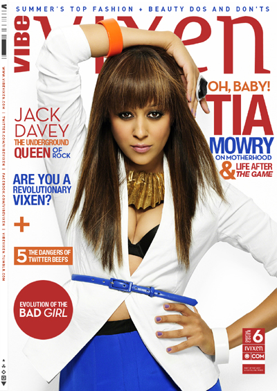 Tia Mowry Vixen magazine