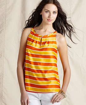 Tommy Hilfiger sleeveless striped tank