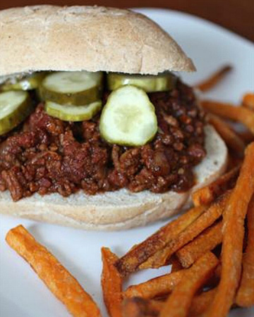 A twist on the classic Sloppy Joe