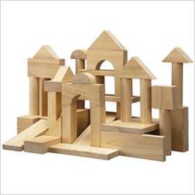 Plan Toys wooden blocks