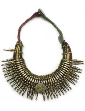 Our pick: Tharu Tribal Necklace (SilkRoadTribal.com, $126)