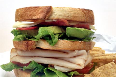 turkey and havarti sandwich
