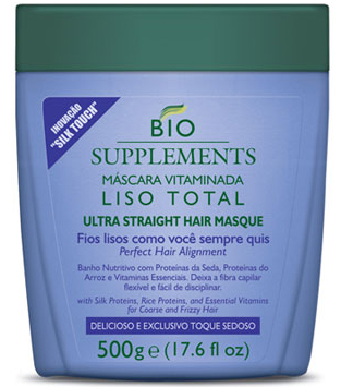 Bio Supplements Ultra Straight Hair Masque, $26.00 at braziliansupplements.com