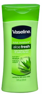Vaseline Intensive Care Total Moisture Aloe Fresh Light Feeling Lotion, $3.43 at drugstore.com