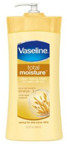 Vaseline® Total Moisture® body lotio