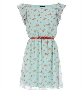 floral vintage-inspired dress