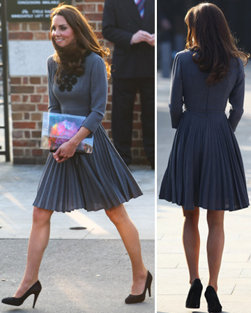 Kate Middleton's calves