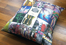 Pillow from Stitchtagram