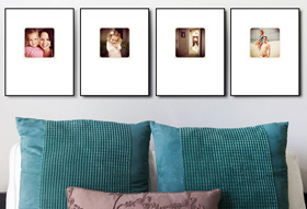 Custom Instagram wall prints from A Little Photo Shoppe