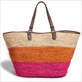 Rafe New York 'Kim' straw tote