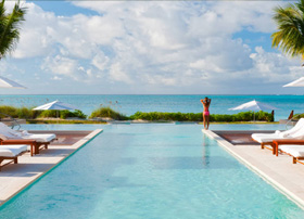 Pool at Grace Bay Club, Turks and Caicos
