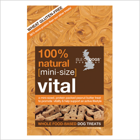 Isle of Dog Mini Vital Natural & Organic Dog Treats