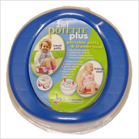 Travel potty seat