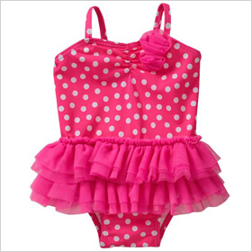 baby girl's swimsuit 