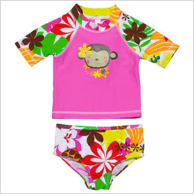 2-piece rash guard set