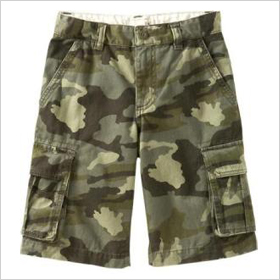 Boys Authentic Cargo Shorts