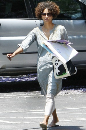 Halle Berry on-set injury