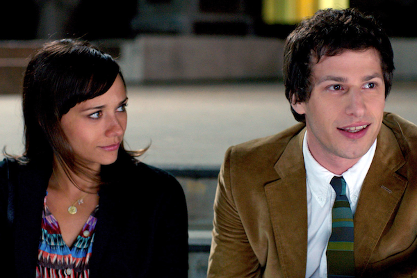 Rashida Jones and Andy Samberg in Celeste and Jessie Forever