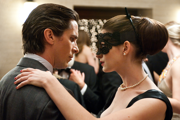 Anne Hathaway and Christian Bale