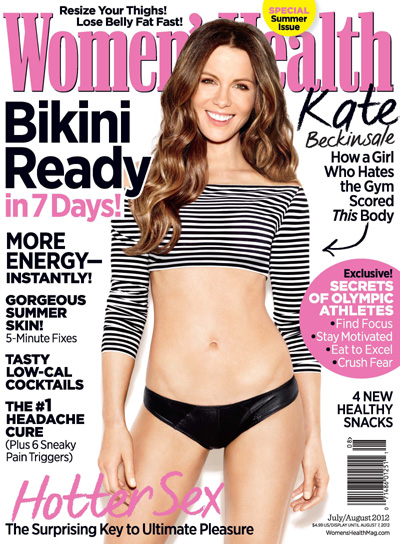 Kate Beckinsale Women's Health magazine