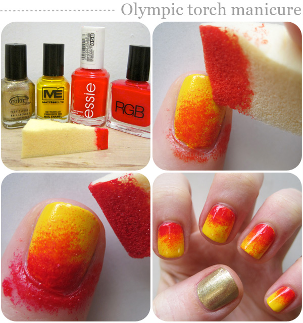 Nail Art Design Procedures Nail Art Designs Olympic