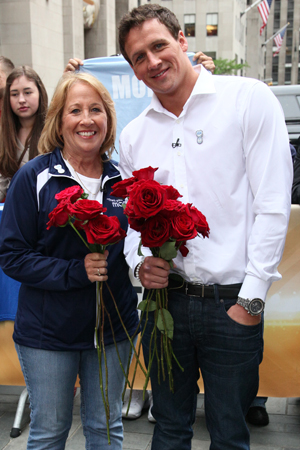 Ryan Lochte loves his mom