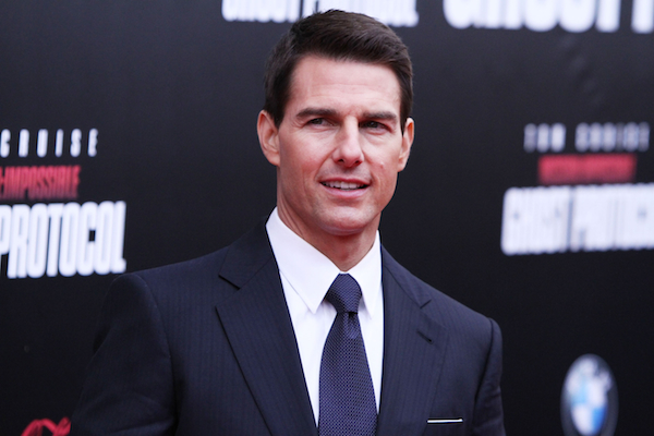 Tom Cruise Mission Impossible NYC Premiere