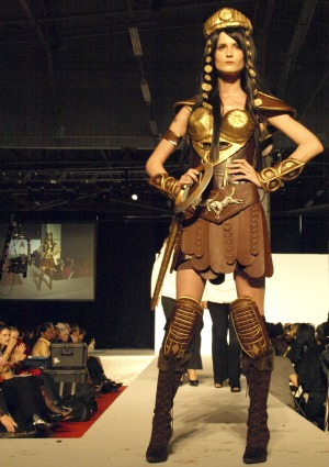 Xena military uniform