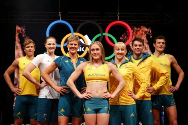 Australia Olympic uniforms