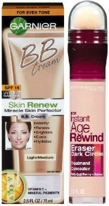 BB cream and instant age rewind