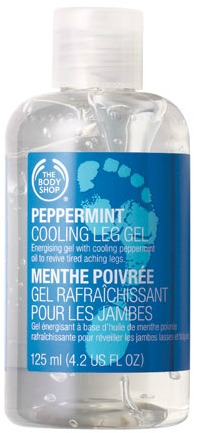 Peppermint cooling leg gel