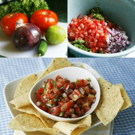 salsa collage