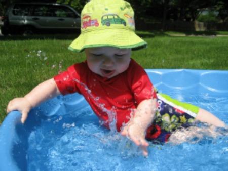 Micah baby pool