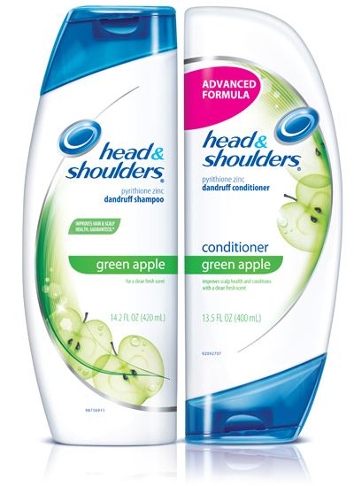 An apple a day: Head & Shoulders Green Apple shampoo and conditioner review