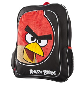 Angry Birds Face Backpack