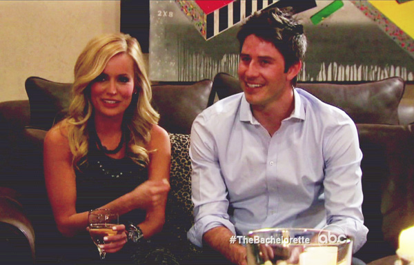 Bachelorette Emily Maynard and Arie Luyendyk Jr.
