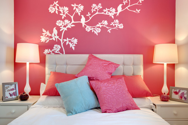 Paint projects for a bedroom makeover
