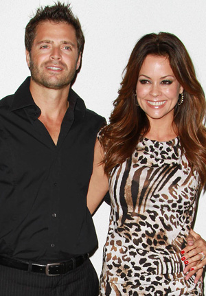 Brooke Burke and husband David