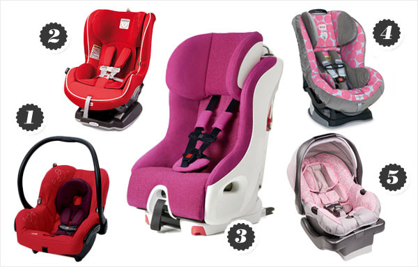 hottest car seats for summer 2012