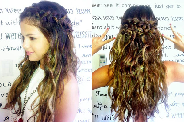 Pretty Long Hair Styles: Celeb Hairstyle Of The Week: Selena Gomez