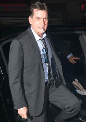 Charlie Sheen donates $1 million to U.S.O