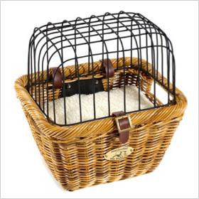 cute pet bike basket