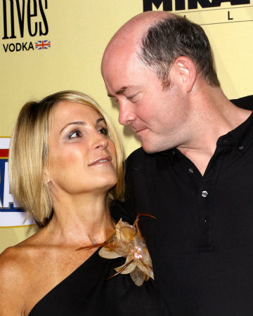 David Koechner and his wife Leigh
