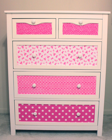 DIY repurposed dresser