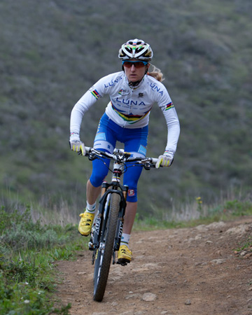 Catharine Pendral - Olympic cross country mountain biker